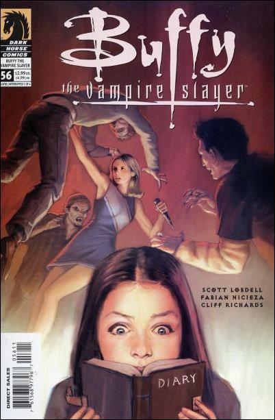 Buffy the Vampire Slayer 56-A by Dark Horse