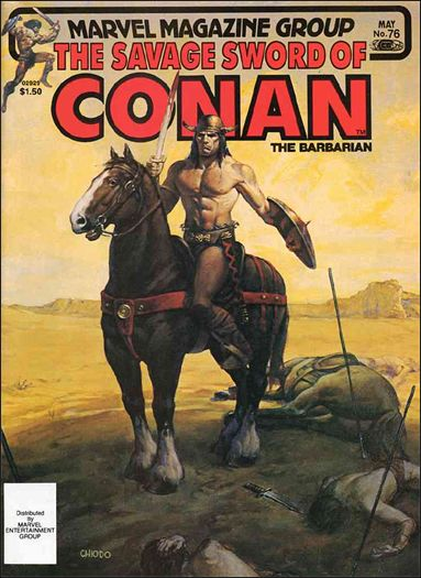 Savage Sword of Conan (1974) 76-A by Marvel