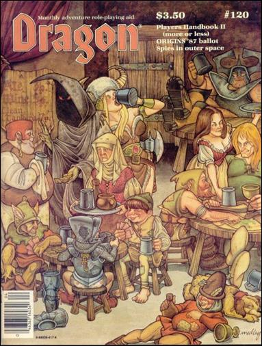Dragon Magazine 120-A by Wizards of the Coast