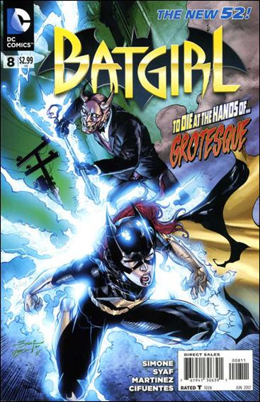 Batgirl (2011) 8-A by DC