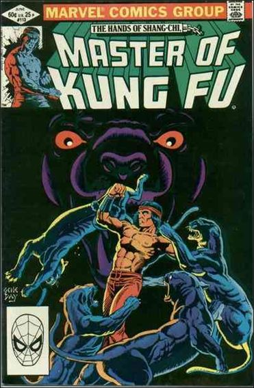 Master of Kung Fu 113-A by Marvel
