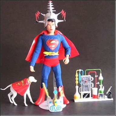 "Captain Action (9"" Figure Uniform and Equipment Packs) Superboy (Uniform Mask and Equipment Pack) by Ideal"