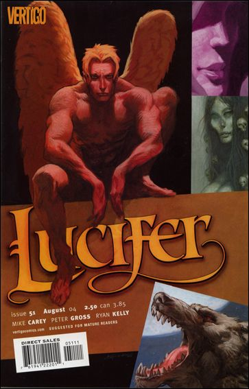 Lucifer (2000) 51-A by Vertigo