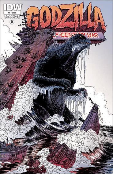 Godzilla: Half Century War  5-A by IDW