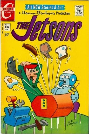 Jetsons (1970) 7-A by Charlton