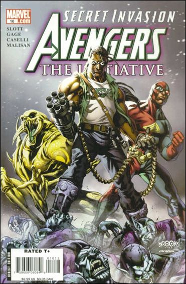Avengers: The Initiative 16-A by Marvel