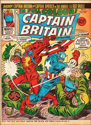 Captain Britain (UK) (1976) 17-B