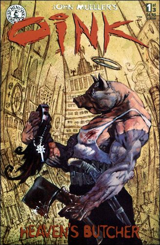 Oink: Heaven\'s Butcher 1 A, Dec 1995 Comic Book by Kitchen Sink