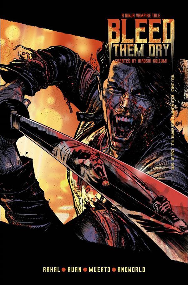 Bleed Them Dry 6-B by Vault Comics