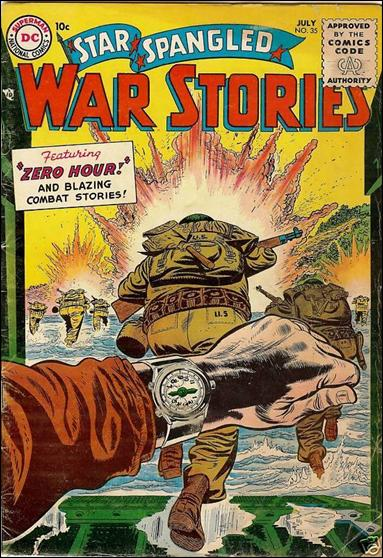 Star Spangled War Stories (1952) 35-A by DC