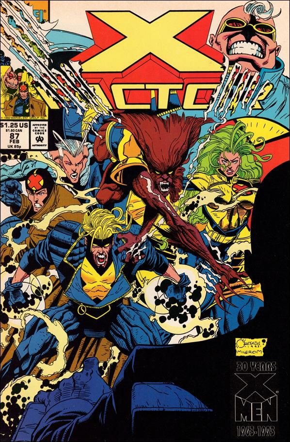 X-Factor (1986) 87-A by Marvel
