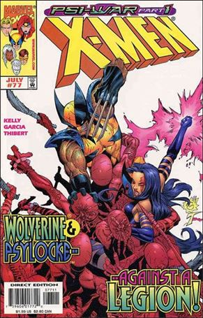 X-Men (1991) 77-A