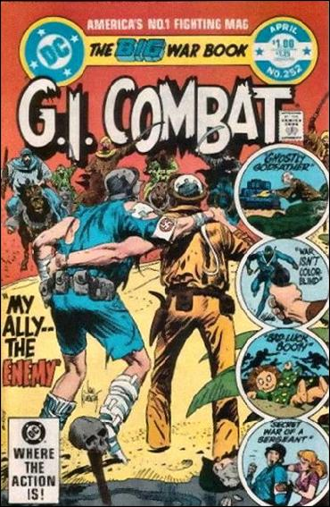 G.I. Combat (1952) 252-A by DC