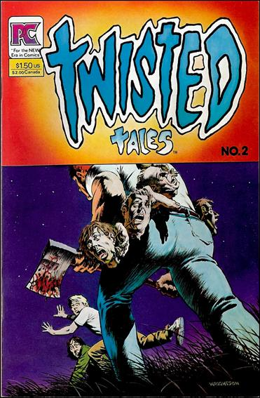Twisted Tales (1982) 2-A by Pacific Comics