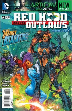 Red Hood and the Outlaws  13-A