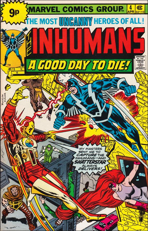 Inhumans (1975) 4-C by Marvel