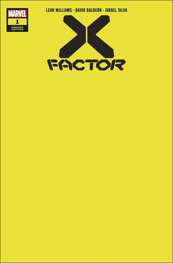 X-Factor (2020) 1-G by Marvel