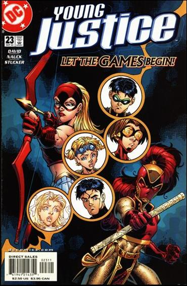 Young Justice (1998) 23-A by DC