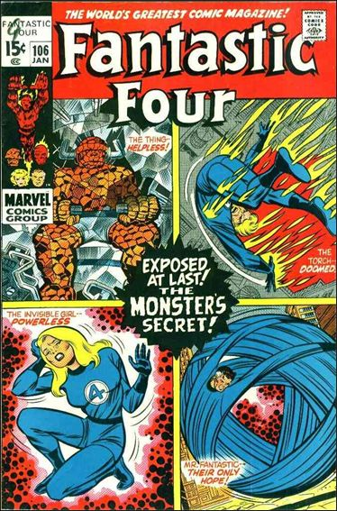 Fantastic Four (1961) 106-A by Marvel