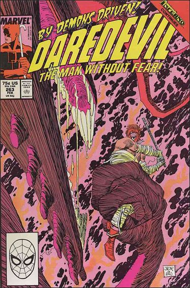 Daredevil (1964) 263-A by Marvel