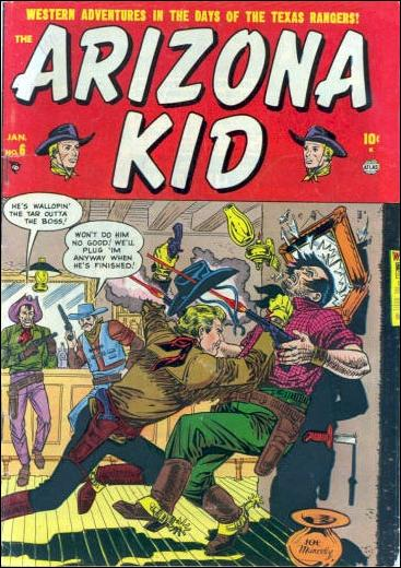 Arizona Kid 6-A by Marvel