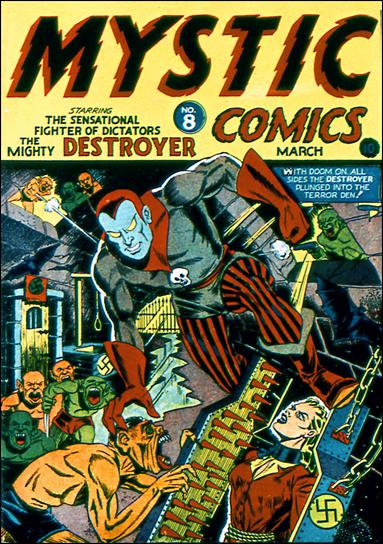 Mystic Comics (1940) 8-A by Timely