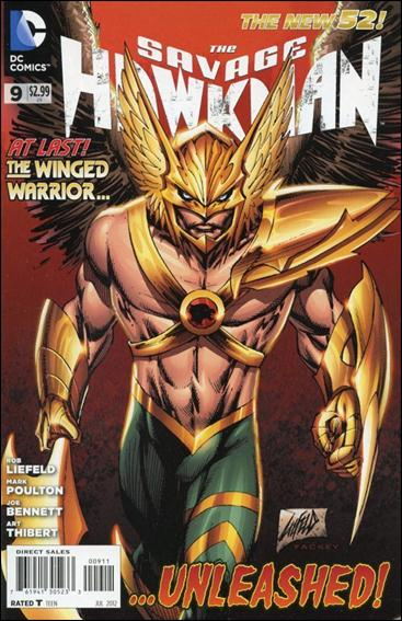 Savage Hawkman 9-A by DC