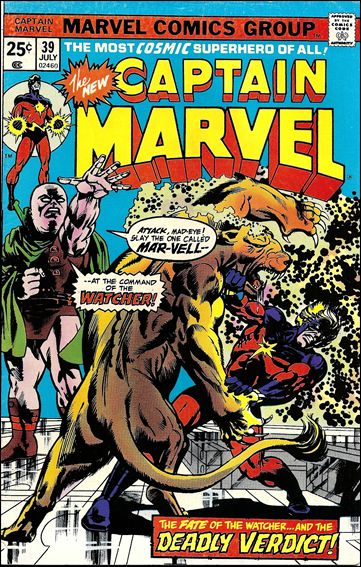Captain Marvel (1968) 39-A by Marvel
