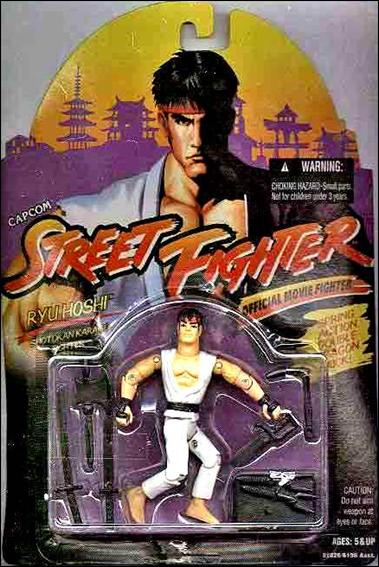 Street Fighter: Official Movie Fighters Ryu Hoshi by Hasbro