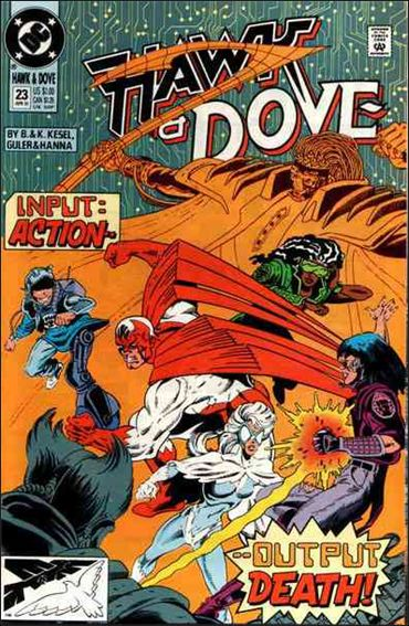Hawk and Dove (1989) 23-A by DC