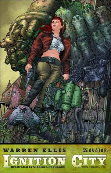 Warren Ellis' Ignition City 5-E by Avatar Press