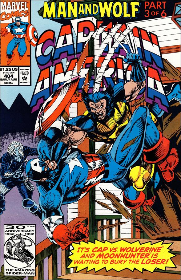 Captain America (1968) 404-A by Marvel