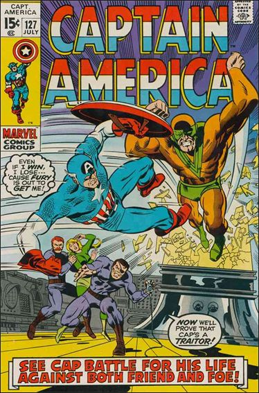 Captain America (1968) 127-A by Marvel