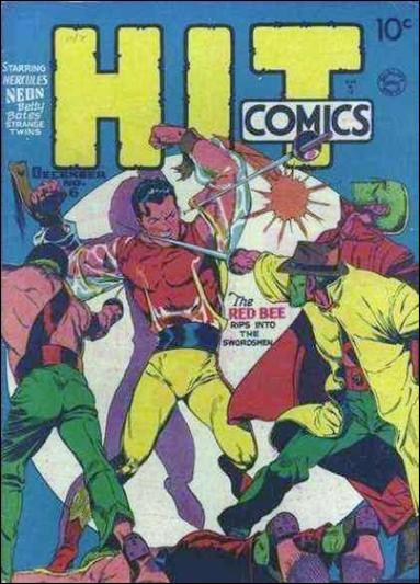 Hit Comics 6-A by Quality