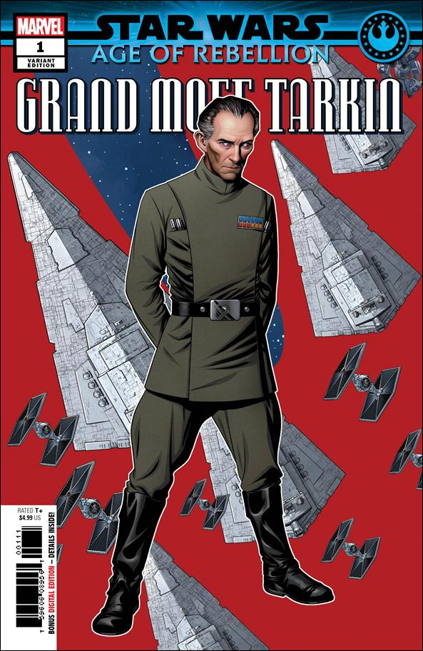 Star Wars: Age of Rebellion - Grand Moff Tarkin 1-B by Marvel