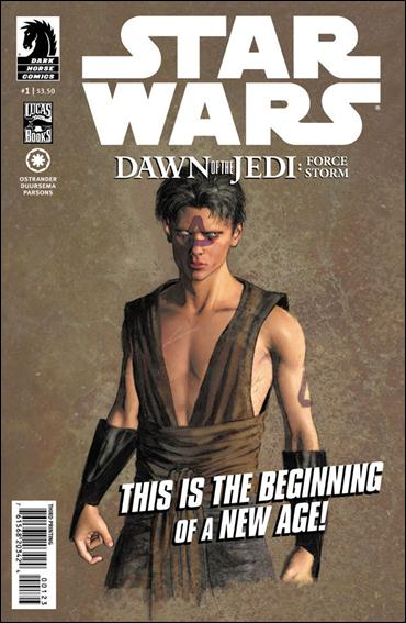 Star Wars: Dawn of the Jedi - Force Storm 1-D by Dark Horse
