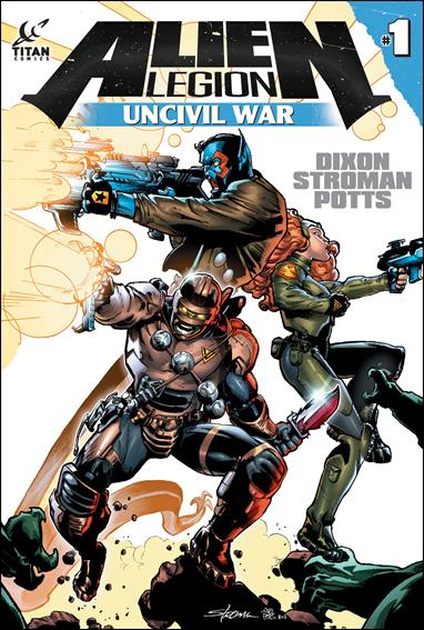 Alien Legion: Uncivil War nn-A by Titan