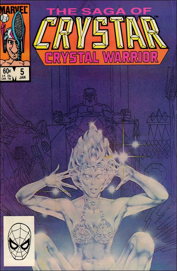 Saga of Crystar Crystal Warrior 5-A by Marvel