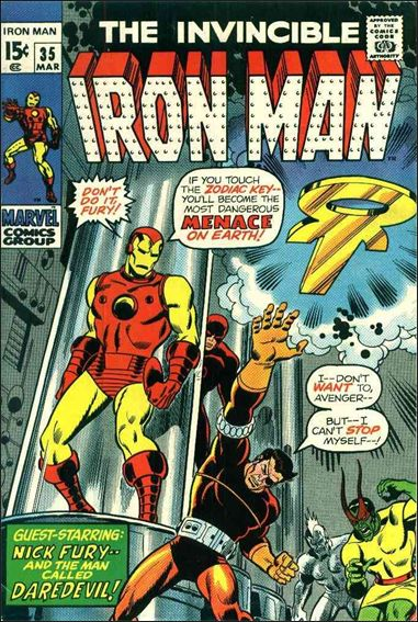 Iron Man (1968) 35-A by Marvel