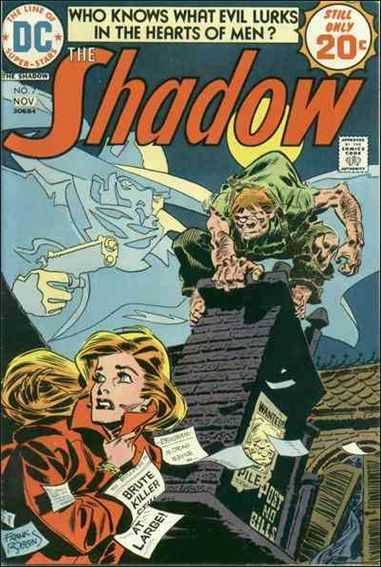 Shadow (1973) 7-A by DC