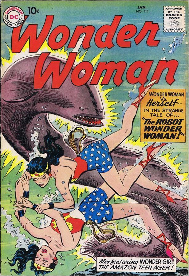 Wonder Woman (1942) 111-A by DC