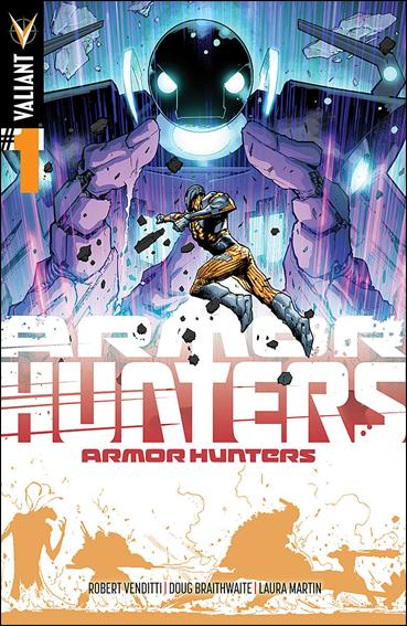 Armor Hunters 1-E by Valiant Entertainment