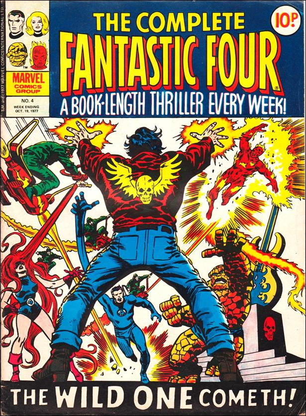 Complete Fantastic Four (UK) 4-A by Marvel UK