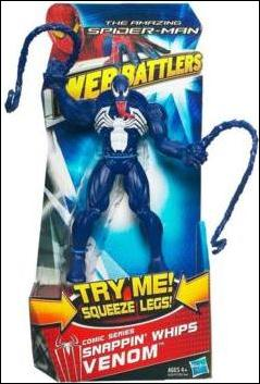 Amazing Spider-Man (Web Battlers)  Snappin' Whips Venom (Comic Series) by Hasbro