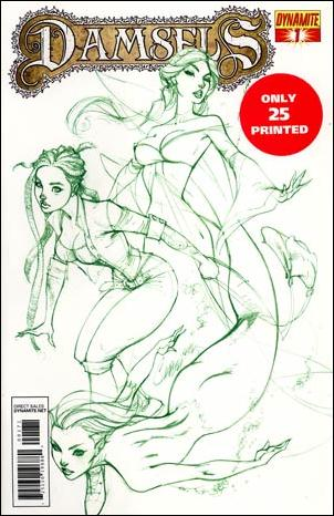 Damsels 1-G by Dynamite Entertainment