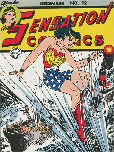 Sensation Comics (1942) 12-A by DC
