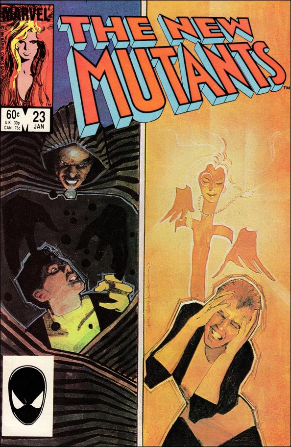 New Mutants (1983) 23-A by Marvel