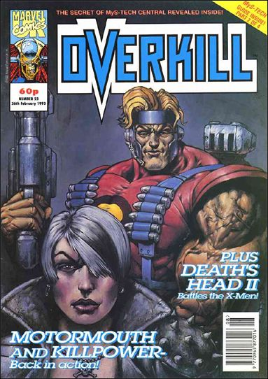 Overkill (UK) 23-A by Marvel UK