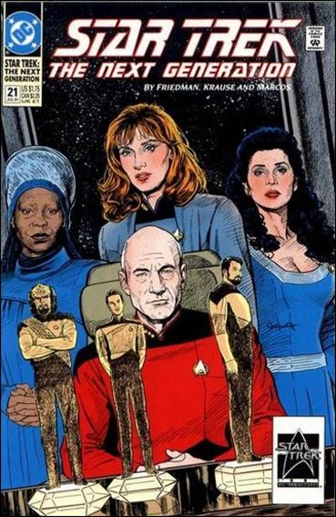Star Trek: The Next Generation (1989) 21-A by DC