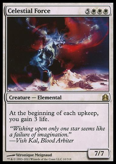 Magic the Gathering: Commander (Base Set)10-A by Wizards of the Coast